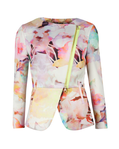 SAAMSA Electric daydream biker jacket     £179.00 click to visit Ted Baker