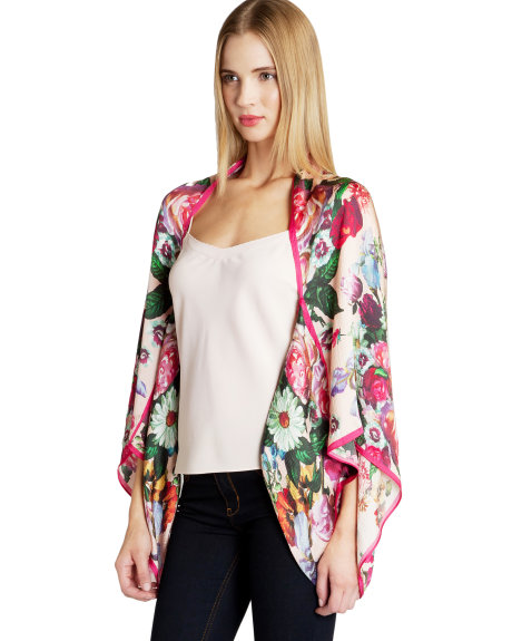 OILIOR Nude oil painting print cape     £99.00 click to visit Ted Baker
