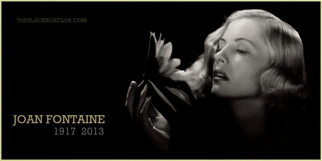 Cate reminds me of Joan Fontaine in this image.