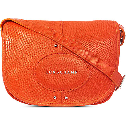 LONGCHAMP Quadri leather cross-body bag £175 click to visit Selfridges