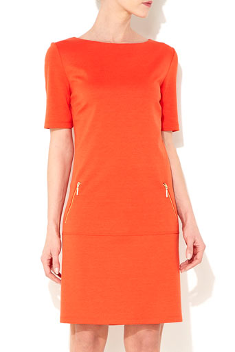 Orange Drop Waist Dress     Price: £35.00 click to visit Wallis
