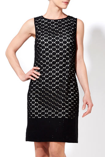 Black Crochet Lace Dress     Price: £40.00 click to visit Wallis