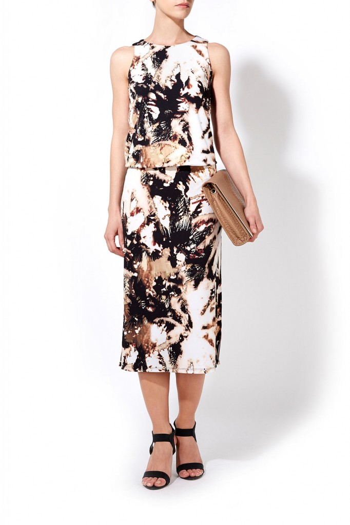Palm Print Dress     Price: £60.00 click to visit Wallis