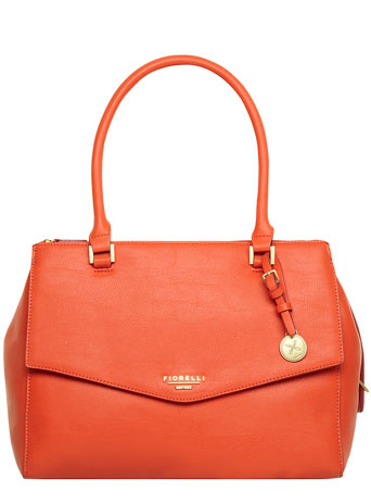 Fiorelli orange large tote     Price: £69.00 click to visit Dorothy Perkins