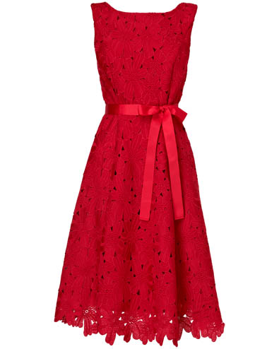 Fabia Embroidered Fit and Flare Dress £160.00 click to visit Phase Eight