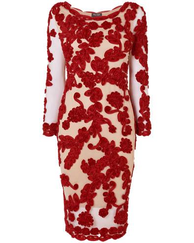Roberta Tapework Dress £185.00 click to visit Phase Eight
