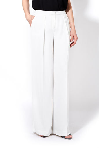 Ivory Wide Leg Trousers     Price: £50.00 click to visit Wallis