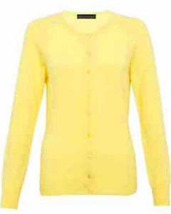 M&S COLLECTION Pure Cashmere Crew Neck Cardigan £60 click to visit M&S