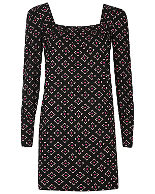 Barbara Hulanicki Geo Floral Print Smock Dress £16.00 click to visit George at Asda