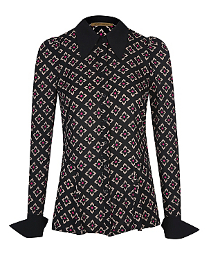 Barbara Hulanicki Floral Geo Print Shirt £16.00 click to visit George at Asda
