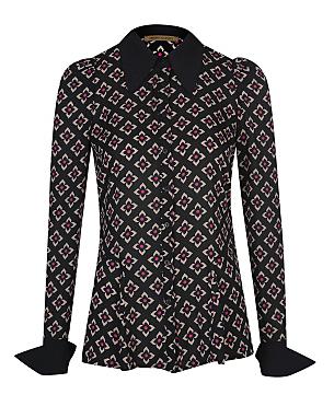 Barbara Hulanicki Floral Geo Print Shirt £16.00 click to visit George at Asda