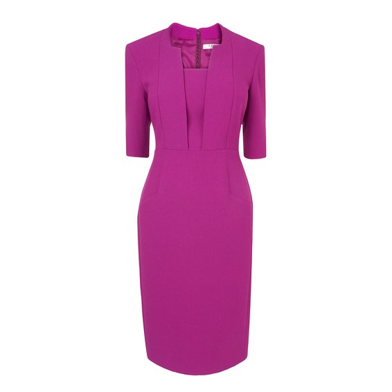Detroit Fitted Dress £225 click to visit LK Bennett