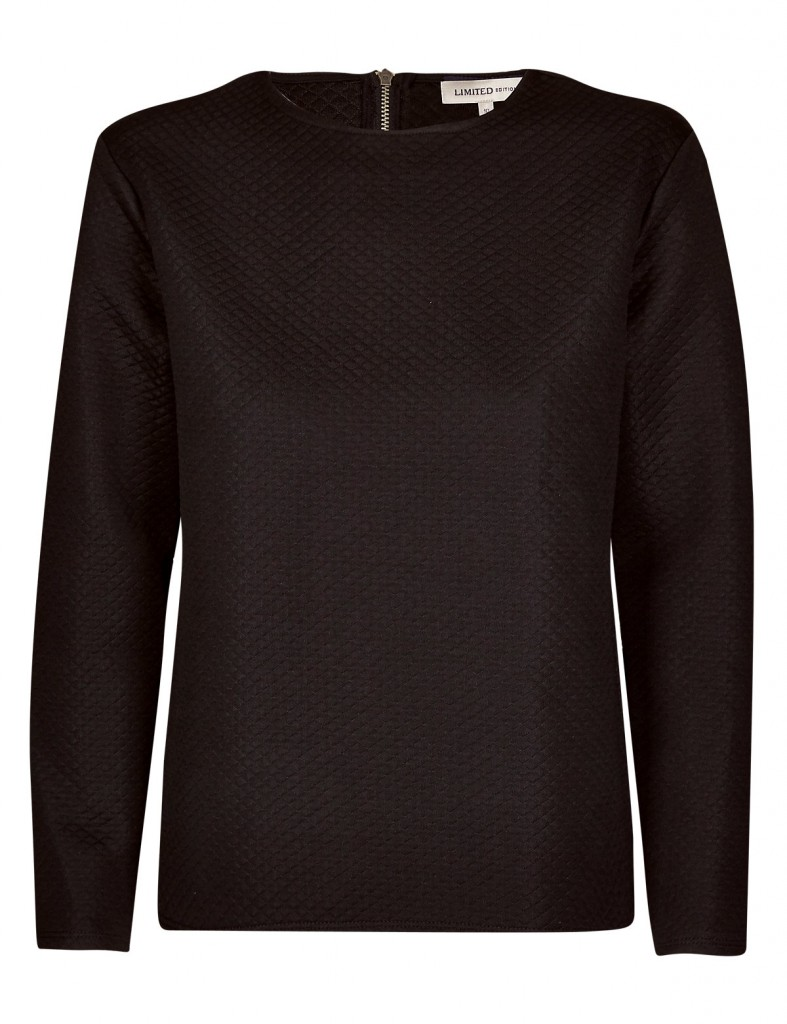 Quilted Sweat Top - no longer available.