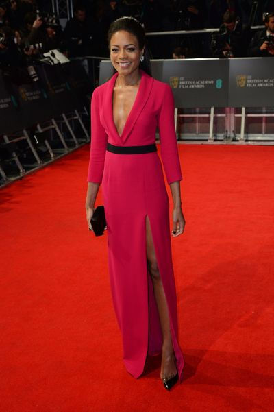 Naomie Harris in Gucci
