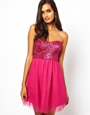 Paradis London Sequin Prom Dress RRP £55.00 £17.50 click to visit ASOS