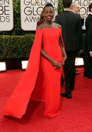 Lupita at the Golden Globes