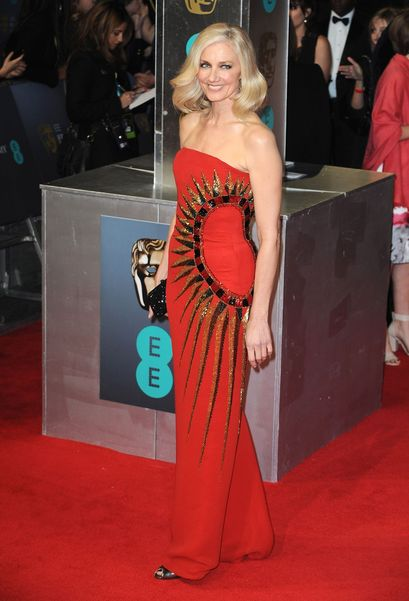 Joely Richardson in William Vintage Bob Mackie