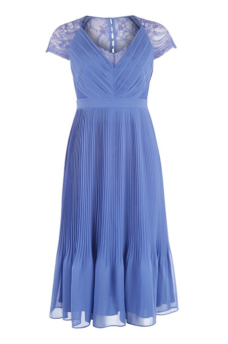 Lilac Middleton Pleat Dress Item No 060/032795/161 / Price £139.00 click to visit Kaliko
