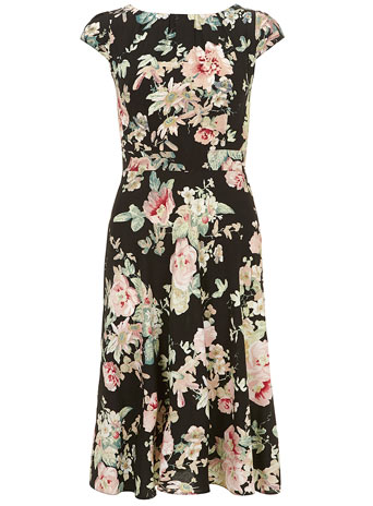 Midi Garden Floral Dress     Was £35.00     Now £31.50 click to visit Dorothy Perkins