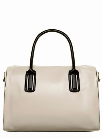 Cream oversize bowler bag     Was £30.00     Now £21.00 click to visit Dorothy Perkins