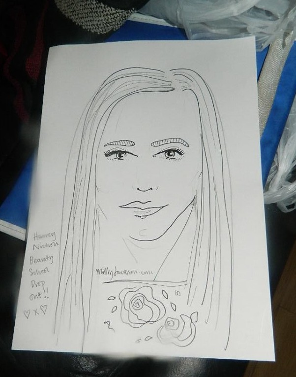 My sketch from Milly Jackson