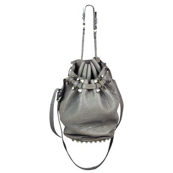Designer wear like this Alexander Wang bag can be found on Consignment sites