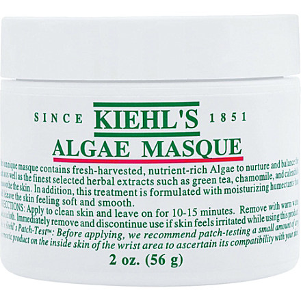 KIEHL'S Algae masque 56g Hover image to zoom KIEHL'S Algae masque 56g £23.50 click to visit Selfridges