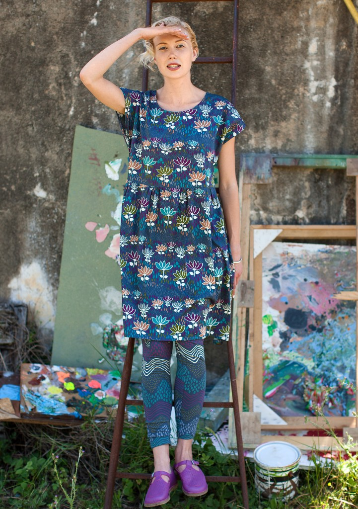 Tove Cotton Dress £69 click to visit Gudrun Sjoden