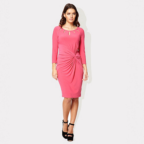 Pink cut-out Lydia dress £71.20 click to visit Debenhams