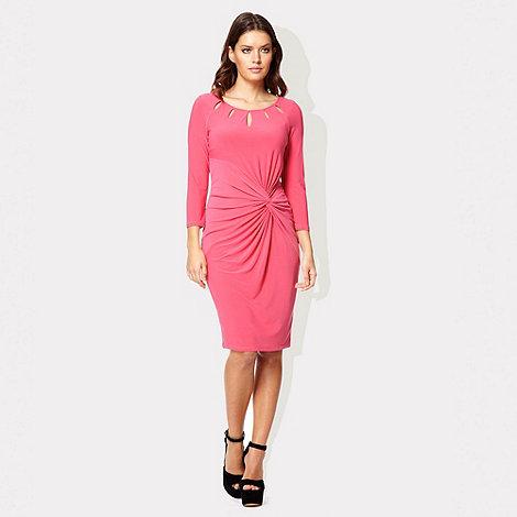 Pink cut-out Lydia dress £71.20 click to visit Debenhams