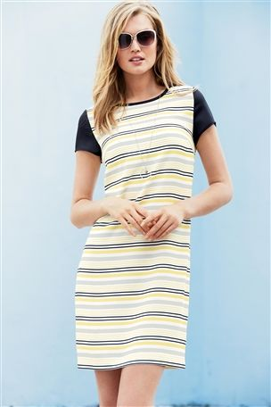 Yellow Stripe Tunic £40 click to visit Next