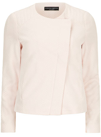 Nude Textured Biker     Was £35.00     Now £28.00 click to visit Dorothy Perkins