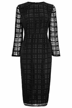 Square Lace Dress £90 click to visit Next
