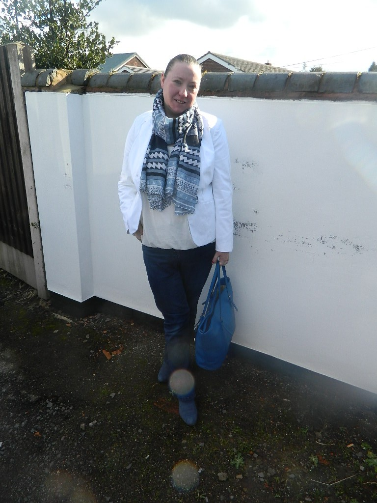 Jacket Curvissa  Scarf Local Boutique Jeans Florence &Fred Boots Clarks Bag Michael Kors