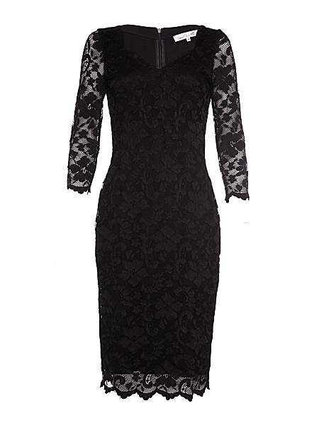 Damsel in a Dress Cassis Stretch Lace Tunic Dress  £129 click to visit House of Fraser