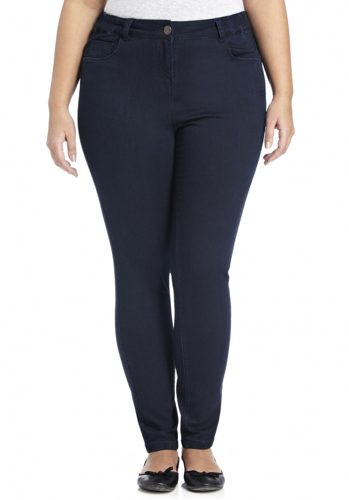 F&F True Supersoft Plus Size Skinny Jeans £14 click to visit F&F