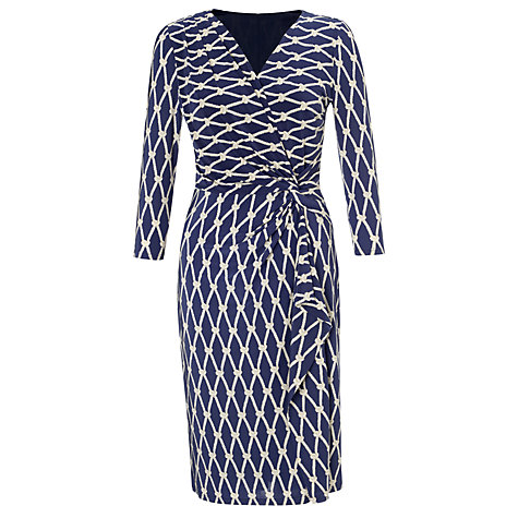COLLECTION by John Lewis Whitney Rope Print Dress, Navy £69 click to visit John Lewis