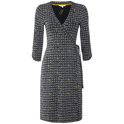 White Stuff Ring Wrap Dress, Dark Ink £29 click to visit White Stuff