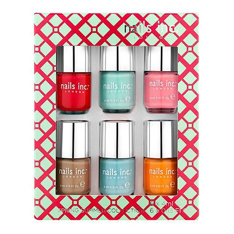 Nails Inc Spring Summer 2013 collection £22 click to visit Debenhams