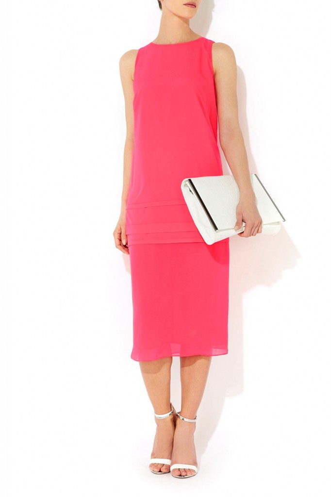 Pink Layered Shift Dress     Was £55.00     Now £49.50 click to visit Wallis