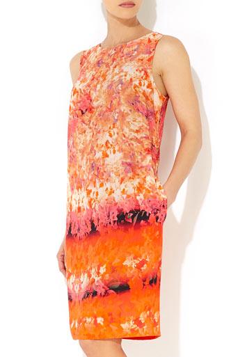 Floral V Back Dress     Was £60.00     Now £54.00 click to visit Wallis