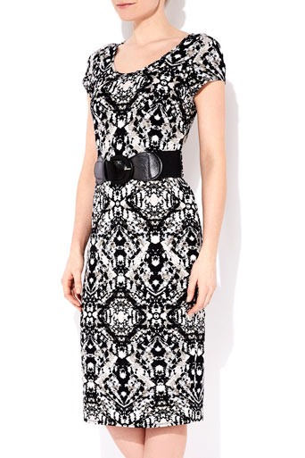 Tribal Print Belted Midi Dress     Price: £35.00 click to visit Wallis
