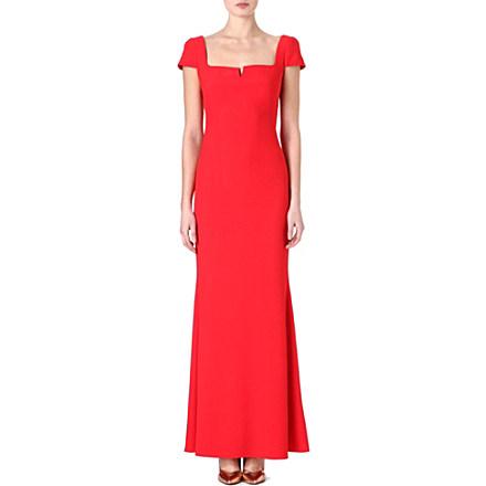 ALEXANDER MCQUEEN Sweetheart crepe gown £1,395 click to visit Selfridges