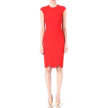 ALEXANDER MCQUEEN Engineered stretch-knit dress £1,125 click to visit Selfridges