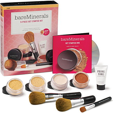 BARE MINERALS Get Started® Kit – light £49 click to visit Selfridges