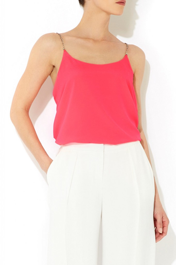 Pink Chain Strap Camisole     Was £35.00     Now £31.50 click to visit Wallis