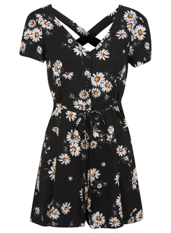 Daisy Print Playsuit     Price: £35.00 click to visit Miss Selfridge