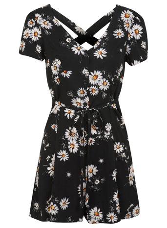 Daisy Print Playsuit     Price: £35.00 click to visit Miss Selfridge