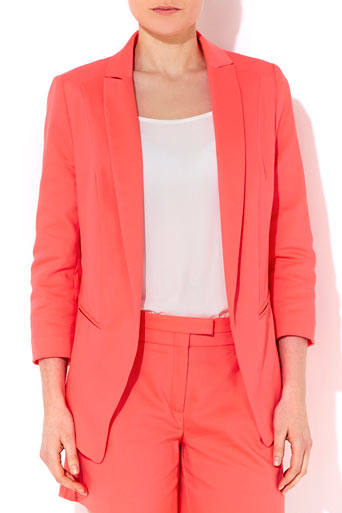 Coral Tailored Jacket     Was £75.00     Now £67.50 click to visit Wallis