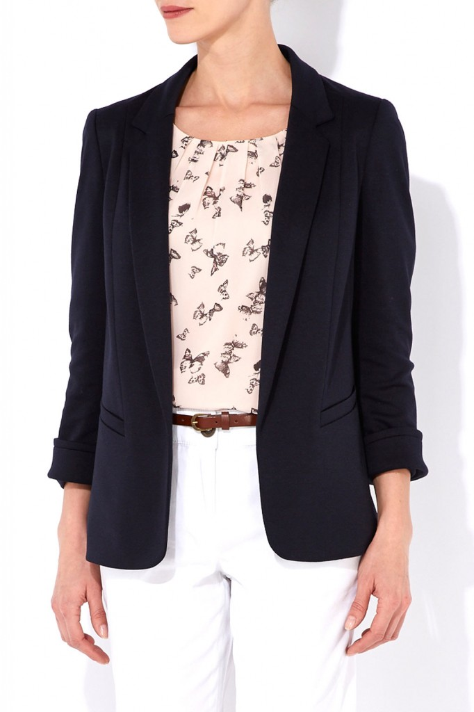 Navy Blue Blazer     Price: £40.00 click to visit Wallis